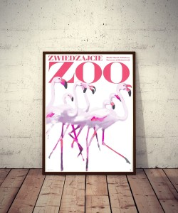 Plakat No. 30 Zwiedzajcie ZOO / Visit the ZOO