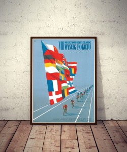 Plakat No. 28 VIII Wyścig Pokoju / VIII International Peace Race